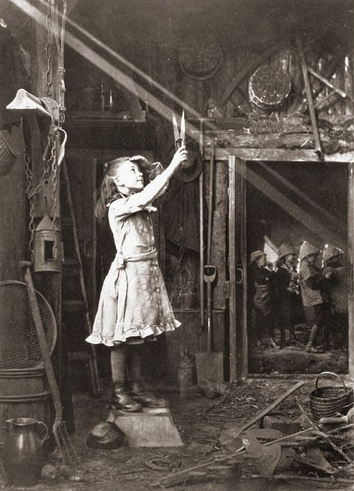 Adam Diston - Cutting a sunbeam, England, 1886. S)