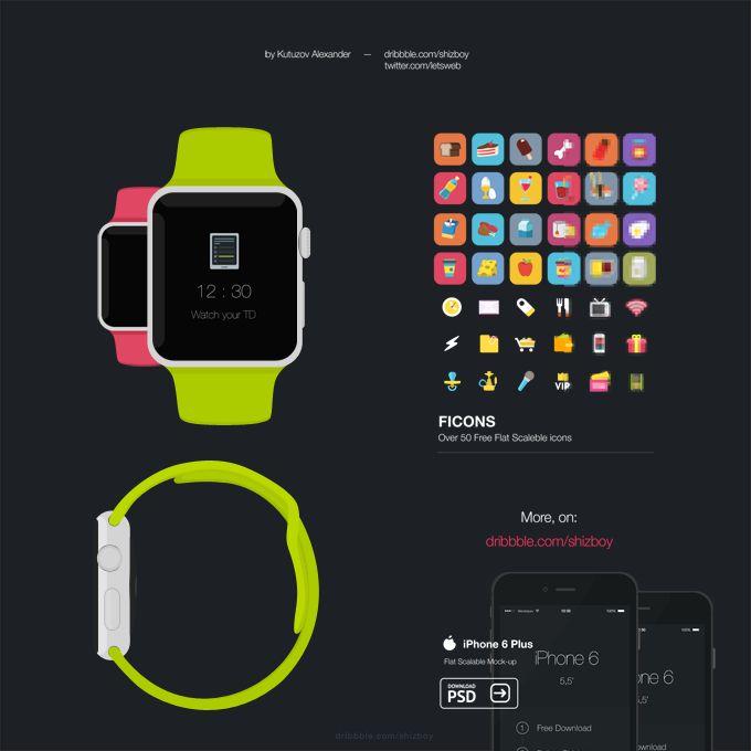 Apple Watch - 365psd  http://goo.gl/rzu8Ch