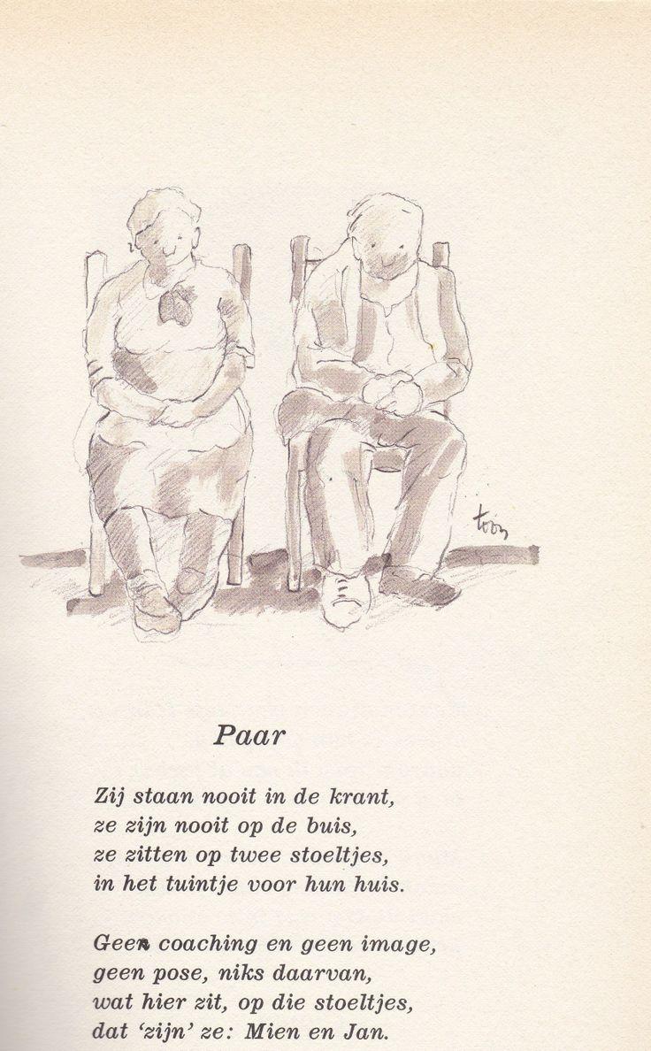 Paar door Toon Hermans
