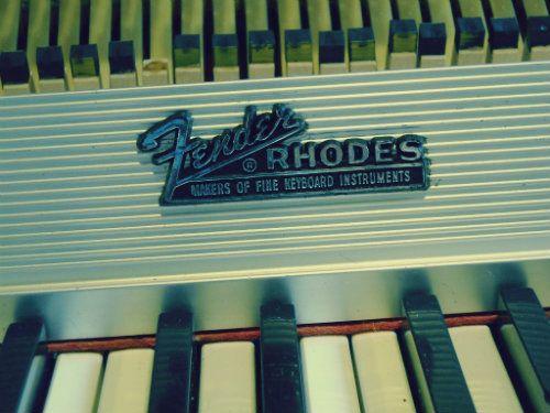 1973 Fender Rhodes Seventy Three Mk I Electric Piano #fender #rhodes #piano