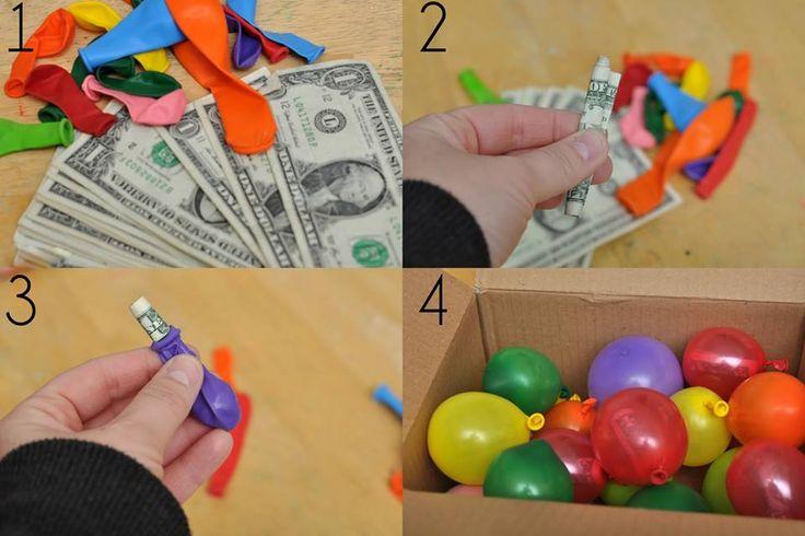Idea para un bautizo #Volo #IdeaFiesta #Bautizo we can use a nicer looking box, again just an idea :)