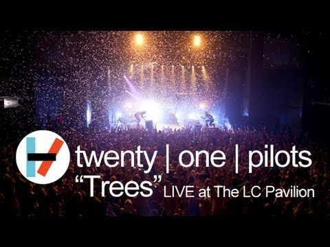 "Two dudes from Columbus, Ohio with more creative energy than they know what to do with. Incredible. Twenty | One | Pilots performing ""Trees"" live at The LC in Columbus, Ohio."