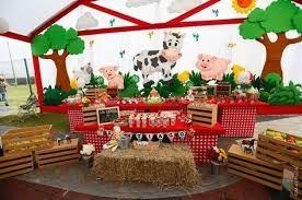 Resultado de imagen para fiesta de granja para niñas