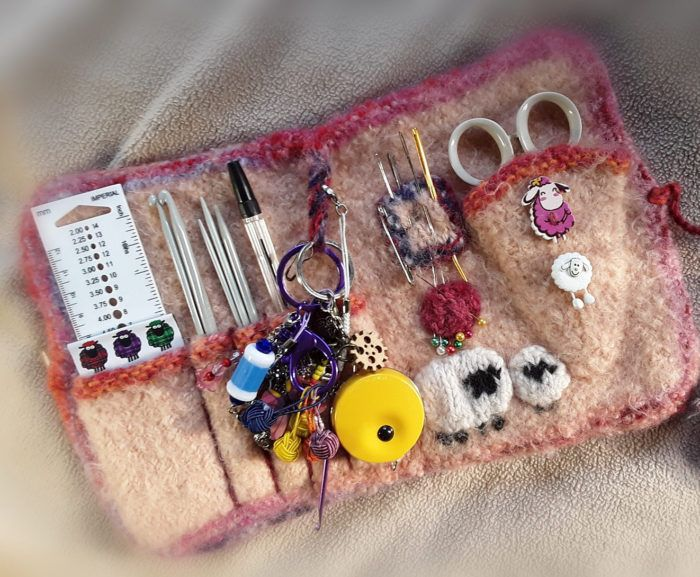 Free Knitting for Knitting Organizer
