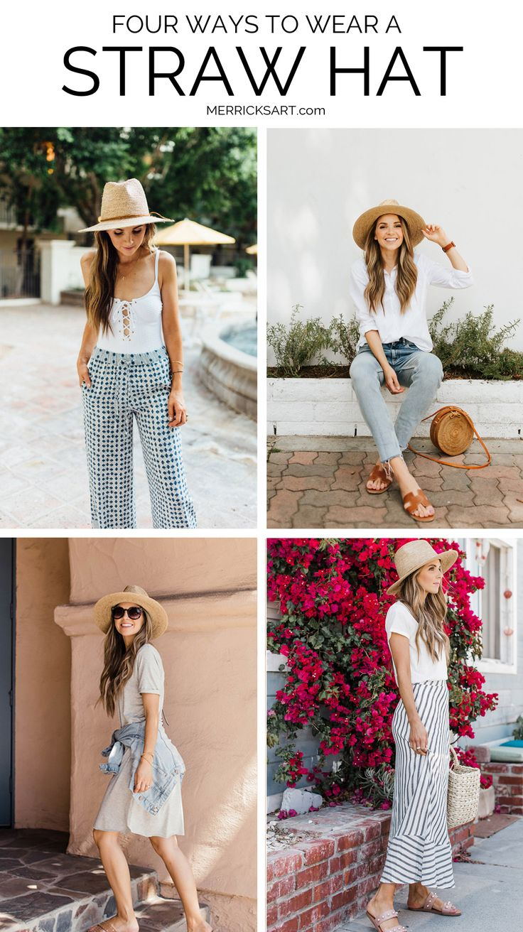 Summer Hats: Where to Buy Them, Which ones to Choose, and How to Wear Them