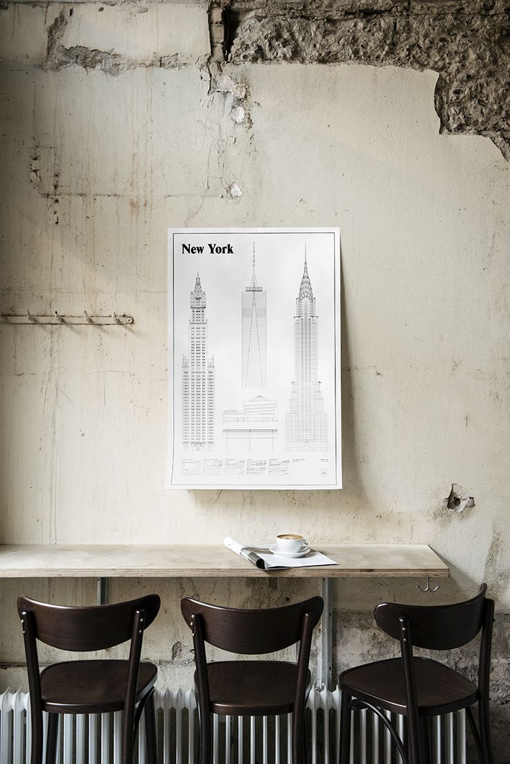 New York Elevations by Studio Esinam   Poster from theposterclub.com