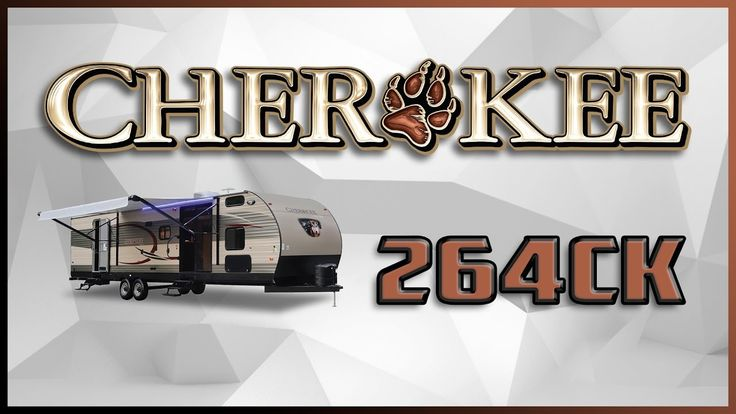 2018 Forest River Cherokee 264CK Travel Trailer RV For Sale Lakeshore RV Center Find out more at https://lakeshore-rv.com/forest-river-rv/cherokee/2018-cherokee-264ck-floor-plan/?pr=true call 231.788.2040 or stop in and see one today!  2018 Cherokee 264CK   This travel trailer is perfect for your adventurous family! Head over to Lakeshore RV today to get the lowest price in the nation on your next Cherokee travel trailer!   The exterior of this 32-long Cherokee is sleek and stylish. Two…