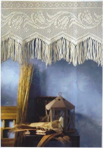 Rideaux au Crochet Fait Main (17)