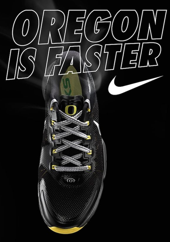 So while I'm debuting this shoe, I should point out that I don't actually  have an Oregon Nike Lunar 'Black' release date.