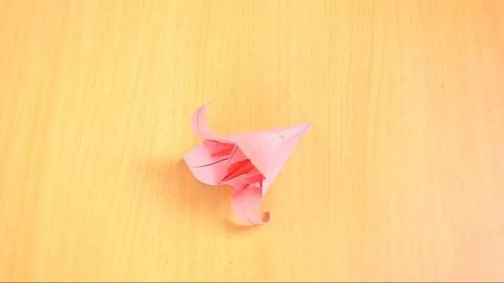 Imagem intitulada Fold an Origami Lily Step 13 preview