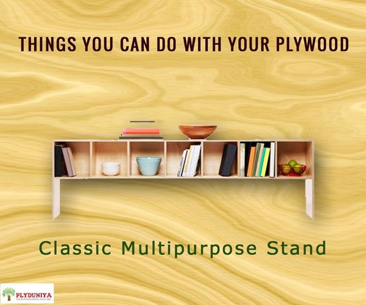 This is what you can try doing this festive season; it will surely  add glamour to your interior.   #plywood - http://ift.tt/1HQJd81
