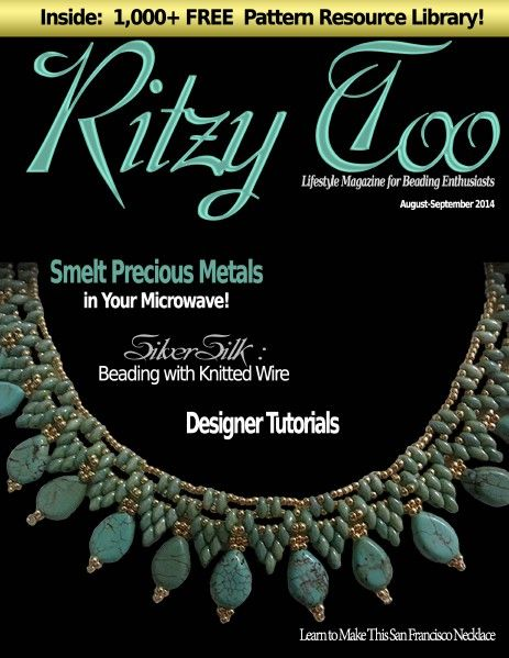 8 best issuu books jewelry images on pinterest book jewelry ritzytoo august september 2014 free digital magazine with lots of tutorials back issues seed bead jewelrybeading fandeluxe Images