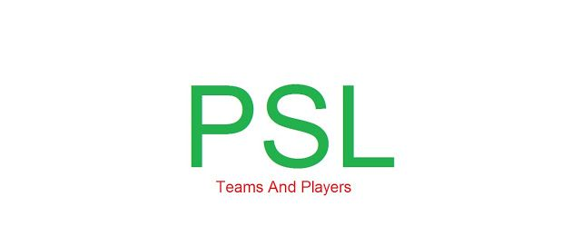 Cricket History: PSL Teams and Their Players