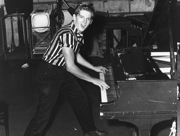 While once considered to be the heir-apparent to Elvis, Jerry Lee Lewis' wild-man persona eclipsed his great talent. Some of his crazier highlights include marrying his 13-year-old cousin and allegedly being involved in the death of his fifth wife, Shawn Stephens, after 77 days of marriage.