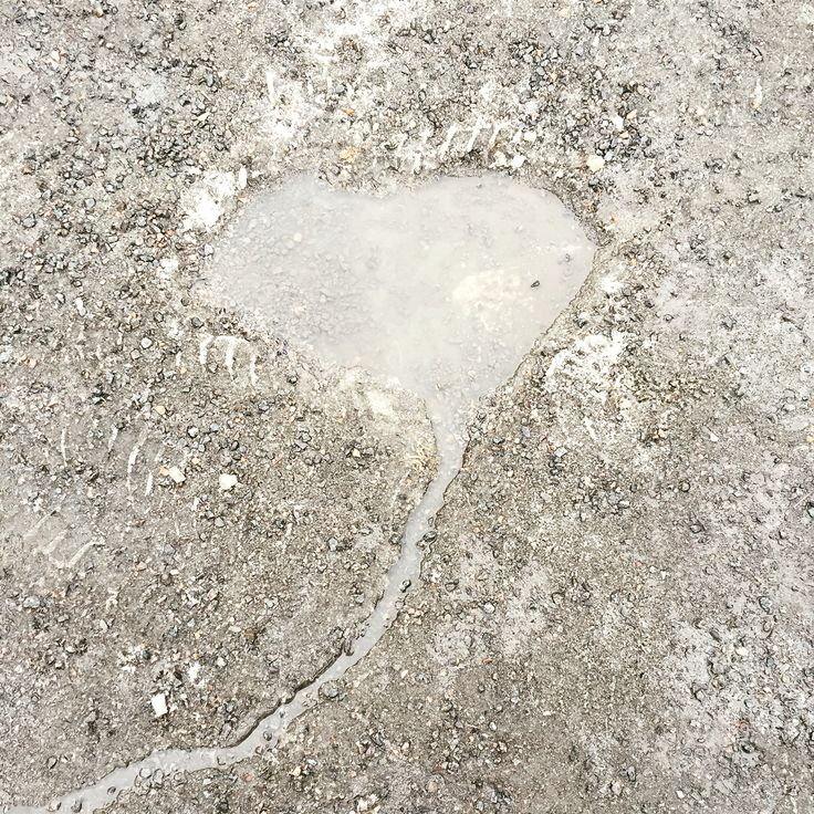 Water heart, heart of water.