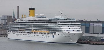 Costa Cruises cruise ship Costa Luminosa. Track the cruise ship, live, in real time.