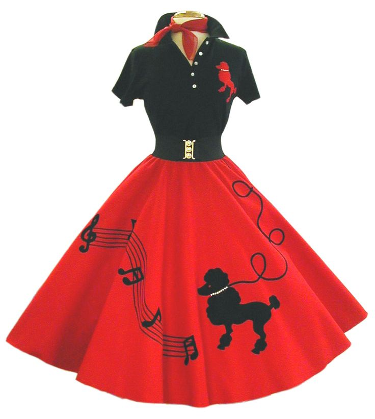 Haute and Fauxie: Poodle Skirts                                                                                                                                                                                 More