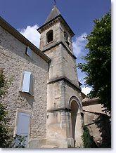 Saint Pantaleon les Vignes, kerk