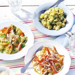 Recept - Gevulde pasta met puntpaprika - Allerhande