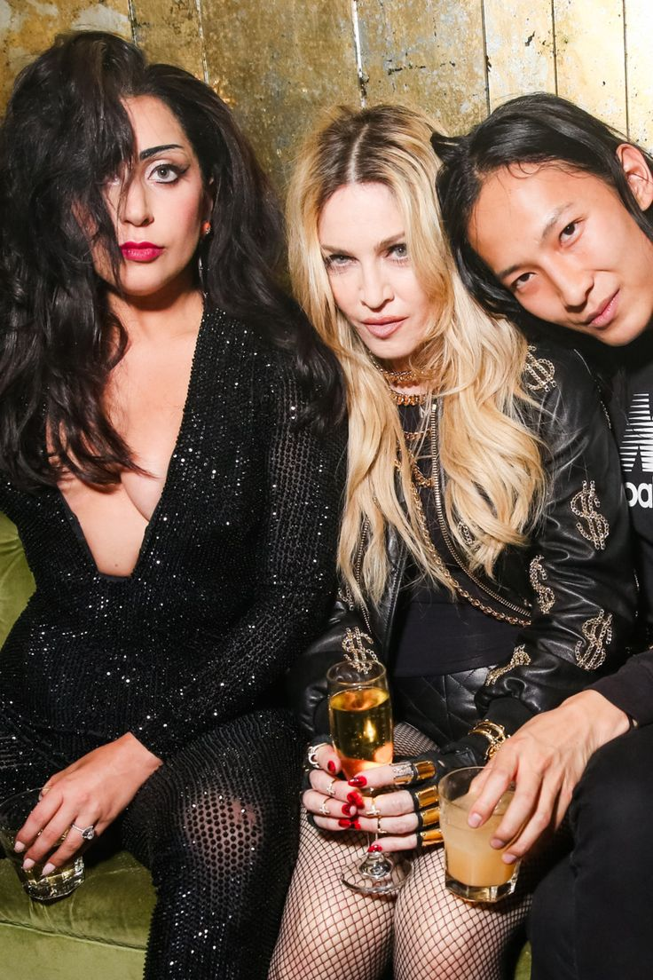 Madonna at the Met Gala after-party, hosted by Lady Gaga and Alexander Wang http://nymag.com/thecut/2015/05/inside-lady-gagas-raucous-met-gala-after-party/slideshow/2015/05/05/met_gala_after_parties2015/