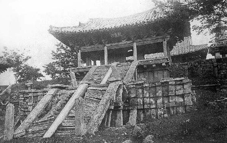 경주 ( 옛날 불국사 )  1909