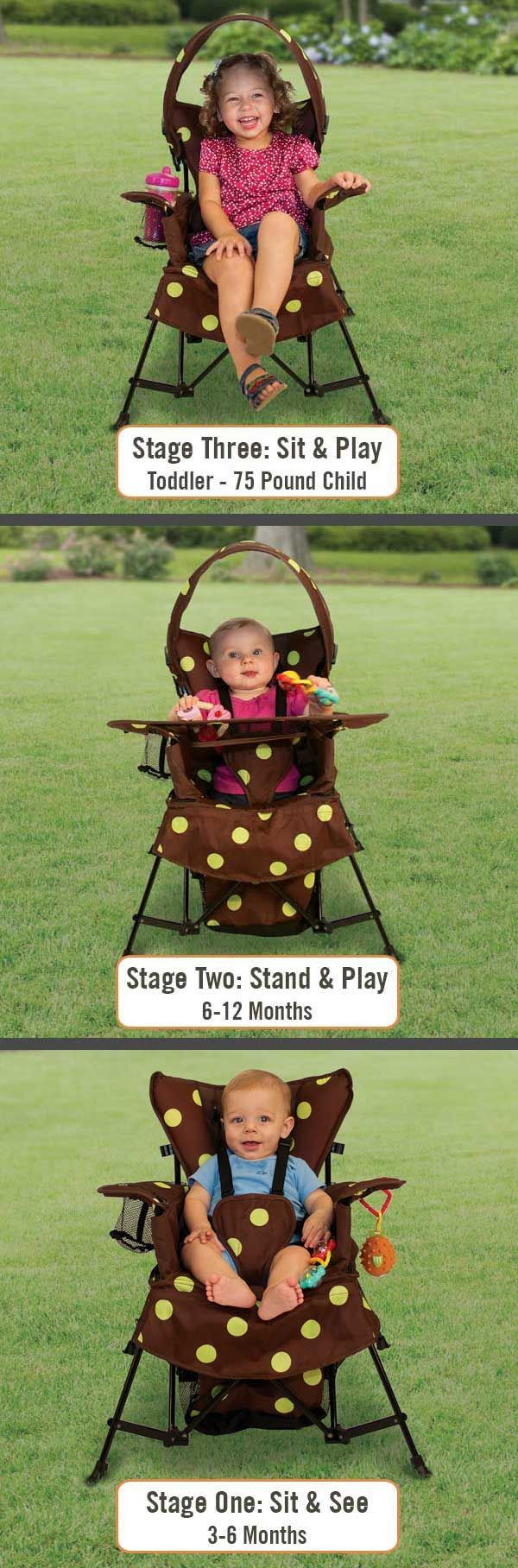 The Go With Me Chair: The chair that grows with your child!