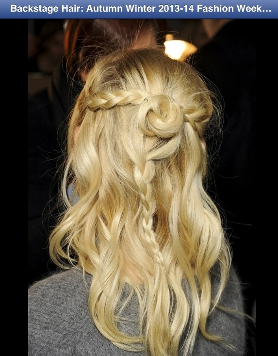 Rodarte Hair Fall 2013
