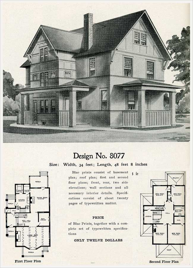 Vintage Farmhouse Plans 134 best house plans images on pinterest | vintage houses, vintage