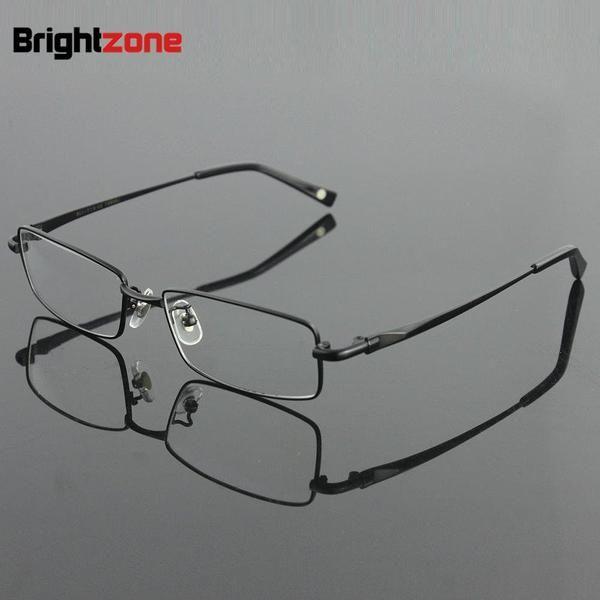#DealsOfTheDay 100% Pure Titanium Full Rim Eyeglasses Men Optical Spectacle Frame Eye B9867