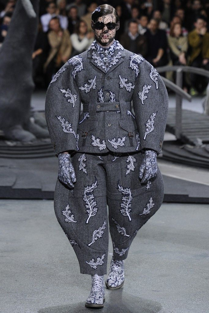 Thom Browne Men's RTW Fall 2014 - Slideshow - Runway, Fashion Week, Fashion Shows, Reviews and Fashion Images - WWD.com