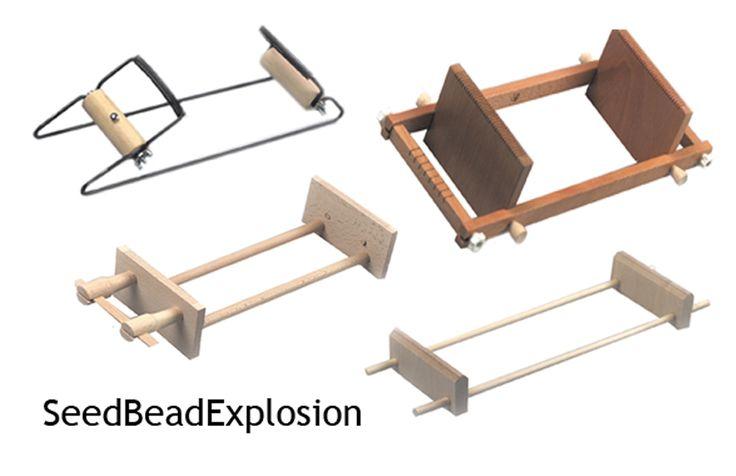 Free Seed Bead Loom Patterns   Looms for Seed Bead Work Metal Wood Czech Ojibwa German   eBay