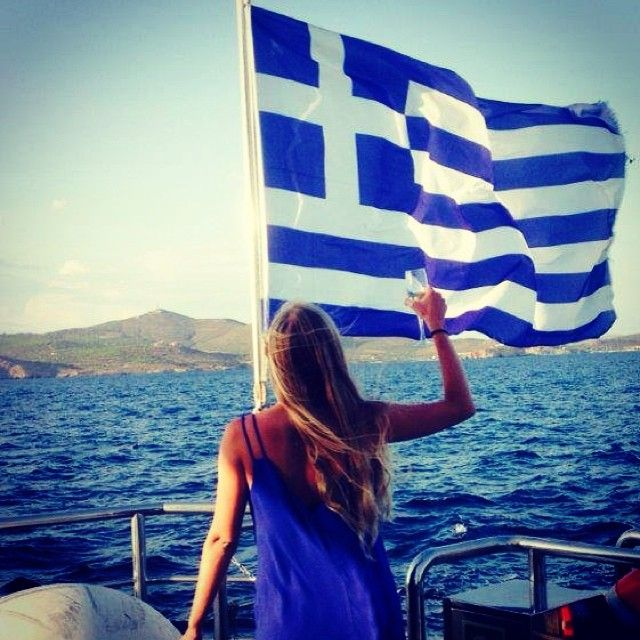#Salute to Greece! Photo courtesy of guest Lesa D. March is the time when most of our ships return back to #Greece from #CostaRica, the #CanaryIslands, the #CapeVerde archipelago... #VarietyCruises #Cruise