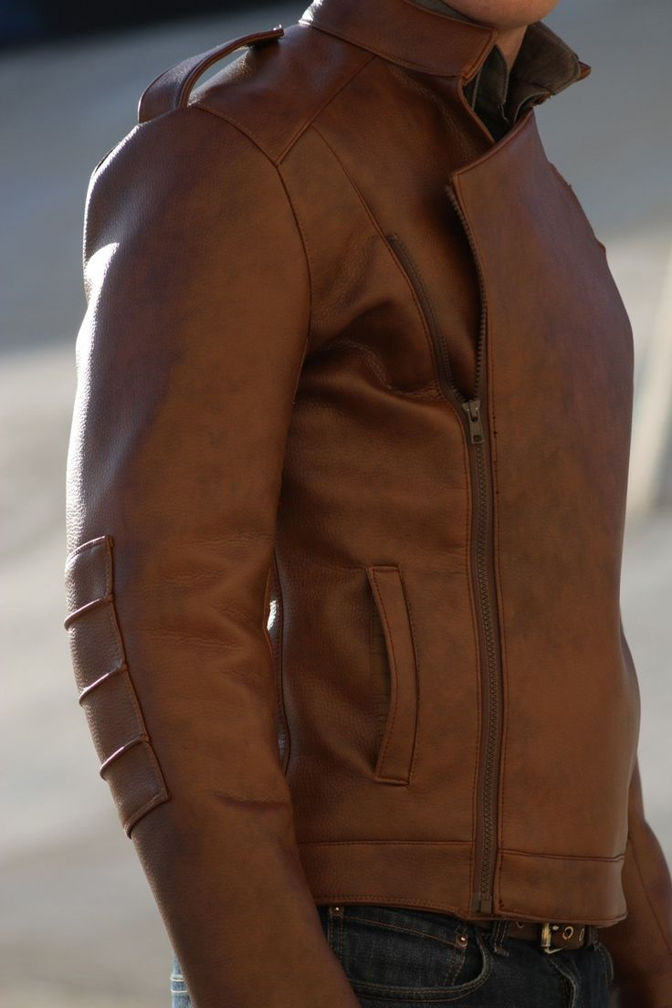 Trost Rocket Leather Jacket from Etsy