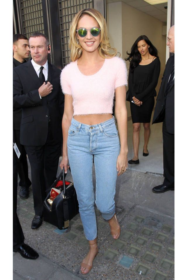 Celebrities who know how to make jeans chic: Candice Swanepoel