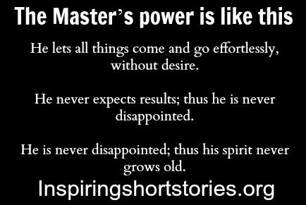 The Master's power is like this | Inspiring Short Stories