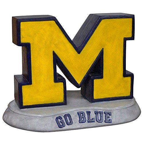 Stone Mascots  University of Michigan M College Stone Mascot -- View the item in details by clicking the VISIT button