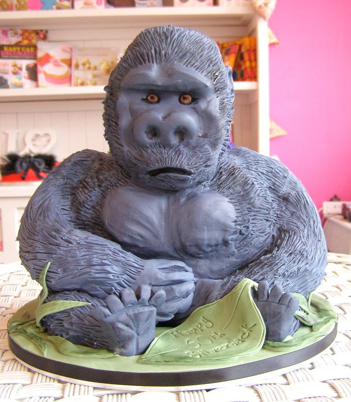 17 Best Images About Gorilla Cakes On Pinterest Apps