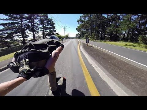 Longboarding: Carving Up Cars - YouTube