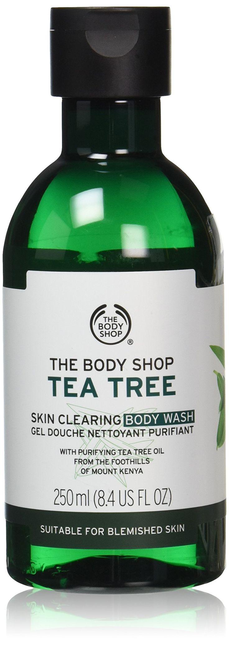 The Body Shop Tea Tree Body Wash, 8.4-Fluid Ounce