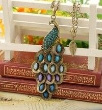 Wish | peacock necklace,beautiful necklace,fashion life
