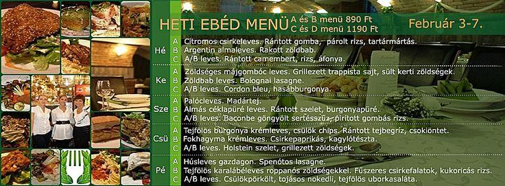 Babér Bisztró Étterem Ideális Rendezvényhelyszín! Minden nap minőségi, változatos ebéd menü! A menü, B menü, Prémium menü, XXL menü, Vegetáriánus menü. Ingyenes ebéd házhoz szállítás a VI.-VII. kerületben. Rendelés: 720-3328, +36 30 9000 550 www.facebook.com/baberbisztro Like, ha tetszik! Köszönjük!