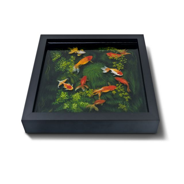 Best Epoxy Resin Art Images On Pinterest Resin Art Epoxy And - Incredible 3d goldfish drawings using resin
