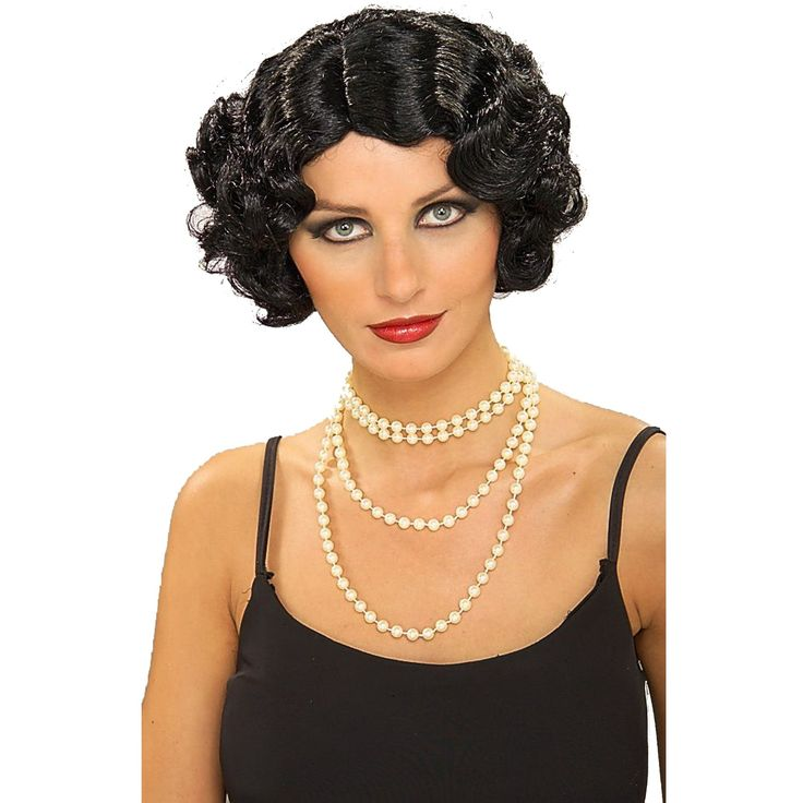Flapper Hairstyles 1920s hairstyles Flapper Hair And Necklace Look
