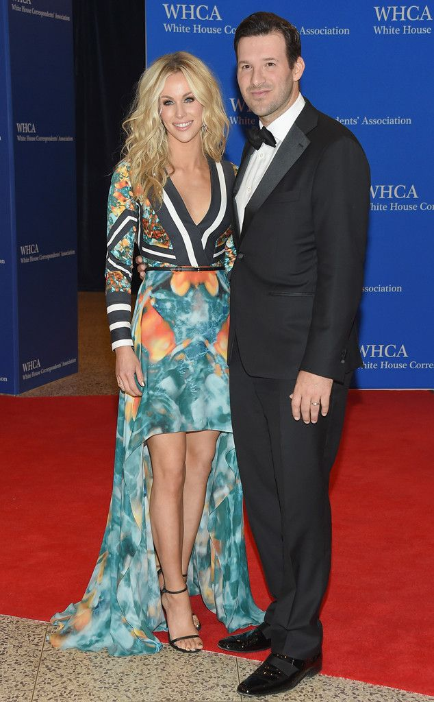Candice Crawford & Tony Romo from 2015 White House Correspondents' Dinner: Star Sightings | E! Online