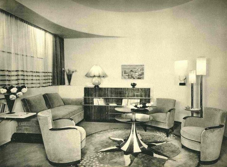 ... ART DECO LIVING ROOM By Decoworld1930. See More.  Http://www.ebay.fr/itm/PETIT SALON