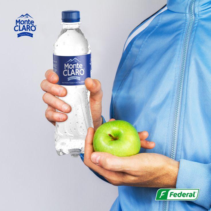 ¡Vida saludable!  Disfruta de una vida saludable, y que la pureza de Monte Claro haga parte de ella.  #aguamonteclaro #vidasaludable
