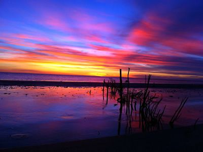Glorious Sunset in Pormpuraaw. Image from the Pormpuraaw Aboriginal Council website.