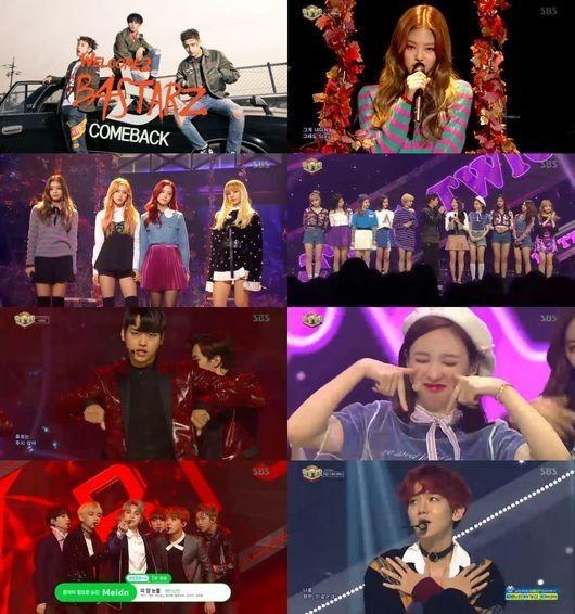 Twice「人気歌謡」でも1位を獲得!BLACK PINKらがカムバックステージを披露 - K-POP - 韓流・韓国芸能ニュースはKstyle