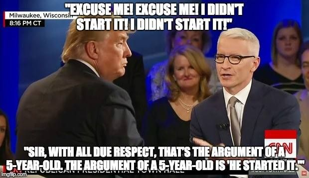 Anderson Cooper said what every sane Republican has been thinking. (And yet he was STILL elected!)
