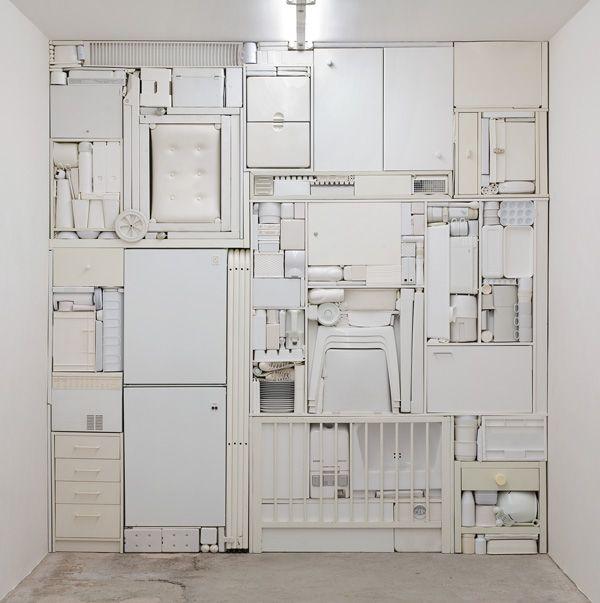 Ghost II, 2009/ White objects/ Michael Johansson